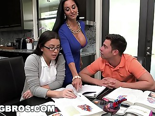 BANGBROS - Step Mom MILF Ava Addams Triplet With Teen Daisy Summers