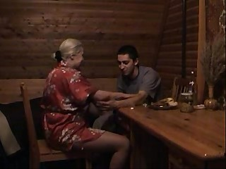 blonde russian mom son 2