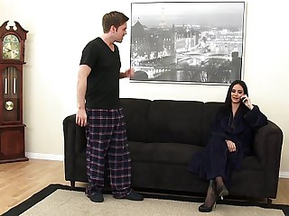 Outrageously Hot Step-mom Nadia Loves Immature Dick