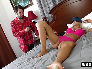 Horny Step Mom Gets Some Dick!