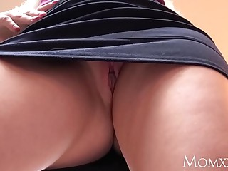 MOM Blonde MILF face fucks step lass and demands sex