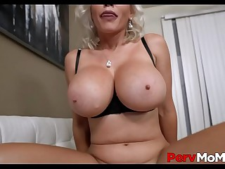 Light-complexioned Big Tits MILF Step Mom Casca Akashova Family Sex With Step Son After Dad Leaves POV