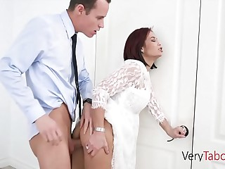 Mom is ready to fuck Stepson pass muster divorce! NAUGHTY MOMS