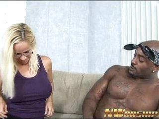 blonde milf and big black dick fun