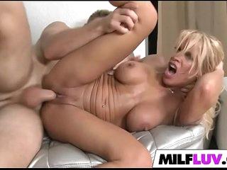 Doing Blonde MILF Gina West