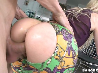 Blonde MILF with a great Ass Fucked