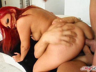Milf Thing MILF is desperate for these three guys to fuck her