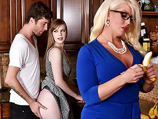 Dolly Leigh  Alura Jenson in My Step Daughter's Boyfriend - BadMilfs