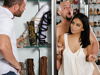 Monica Asis  JMac in If The Shoe Fits - BrazzersNetwork